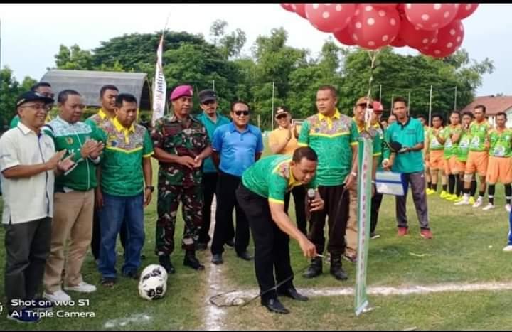 PS Socorejo Pimpin Sementara Grup A Camat Bancar Cup U40