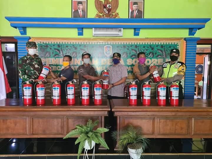 14 RT di Socorejo Dilengkapi APAR, Kang Arief Minta Dimaksimalkan Fungsinya